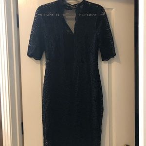Express dress black size 12